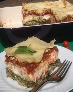 Italian Flag Lasagna
