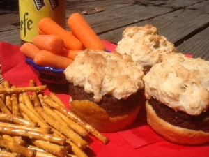 BEER & 'SAUSAGE' SLIDERS