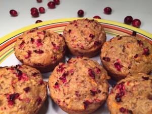Cran-Yam Muffins
