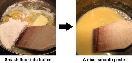 white sauce paste