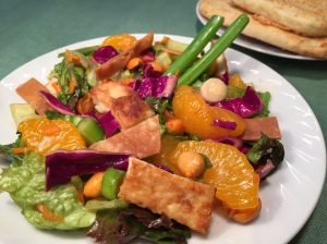 Colorful MANDARIN TOFU SALAD