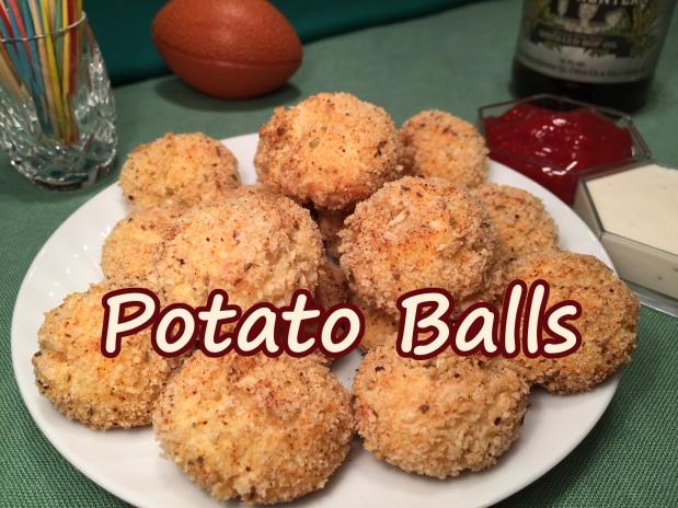 POTATO BALLS – Crunchy &Creamy!