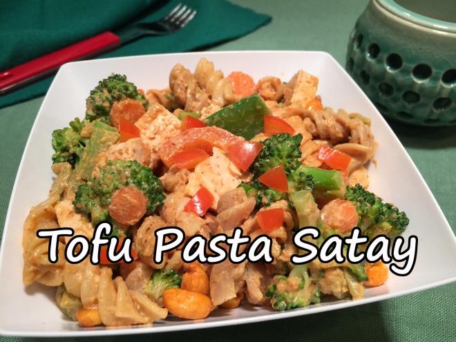 Tofu Pasta Satay