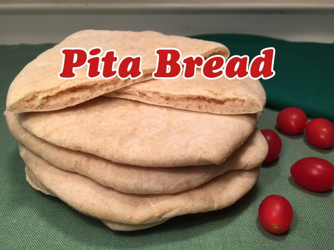 pita bread text