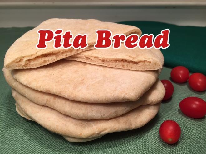 pita bread text