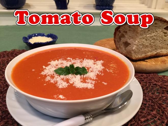 tomato soup text