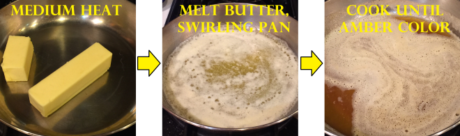 butter browned