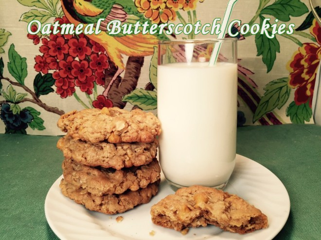 oatmeal butterscotch cookie text