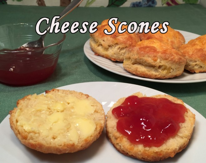 cheese scones text