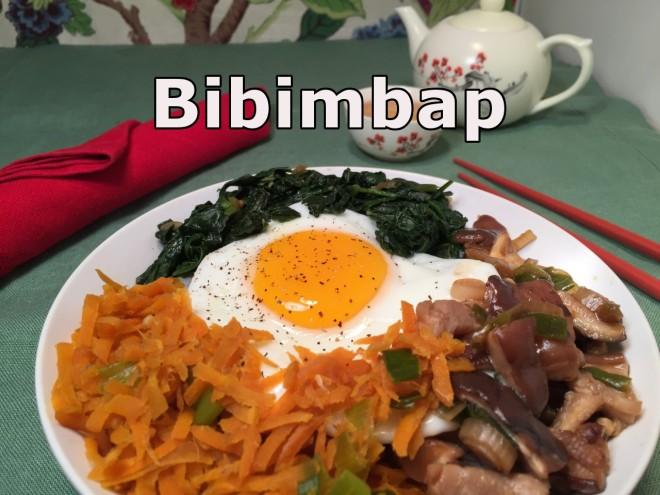 bibimbap text