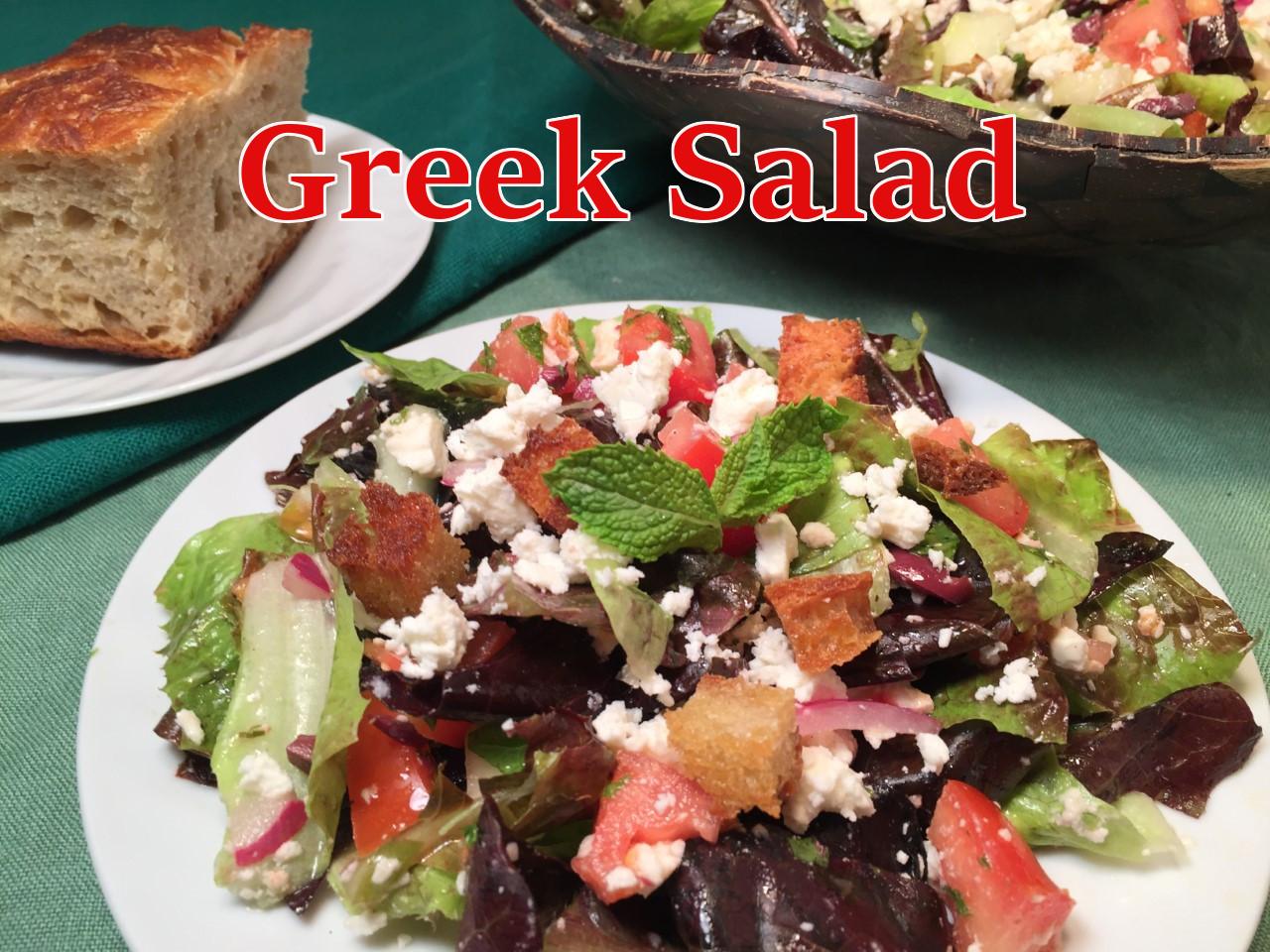greek salad text