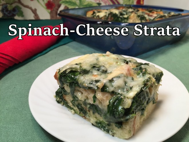 spinach cheese strata text