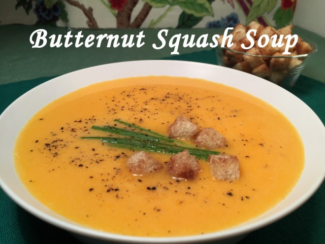 butternut squash soup text