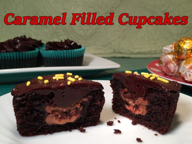 caramel filled cupcakes text2