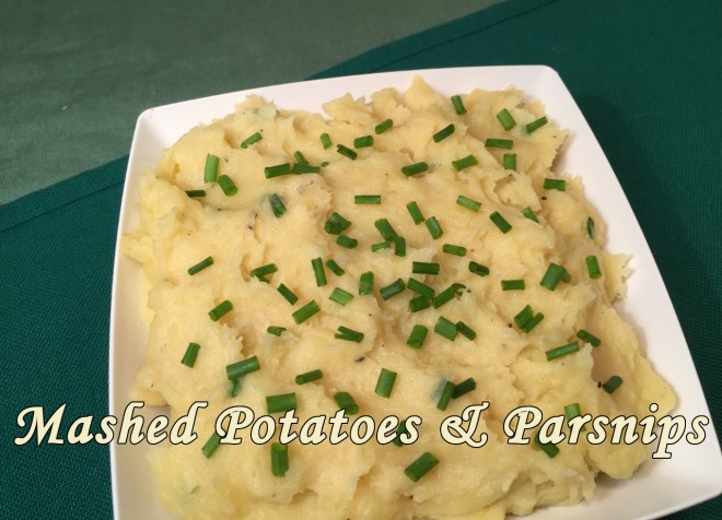 mashed pot & parsnips text