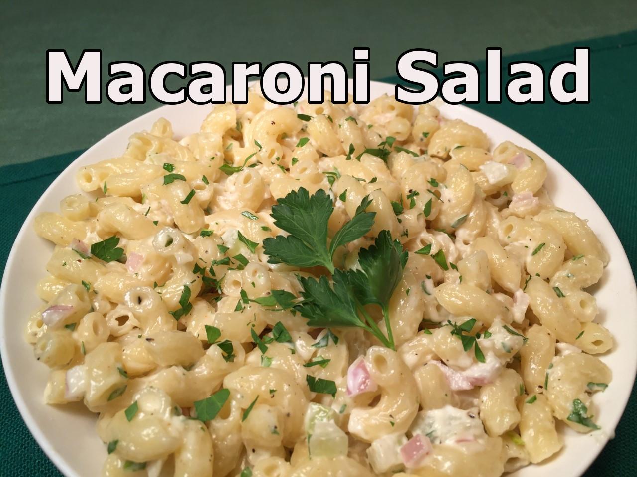 mac salad text