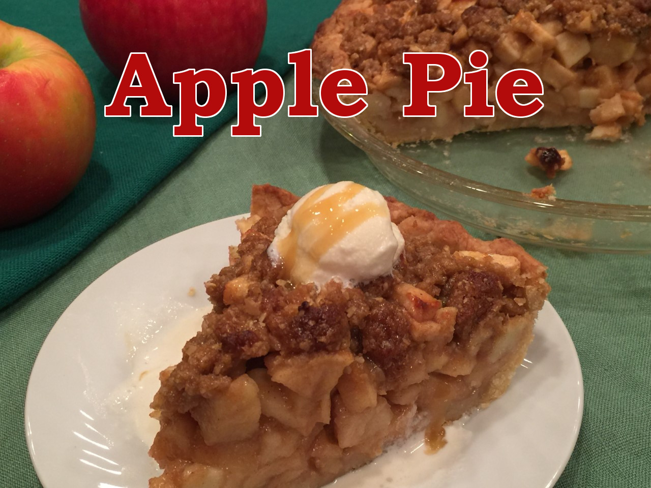 apple pie text