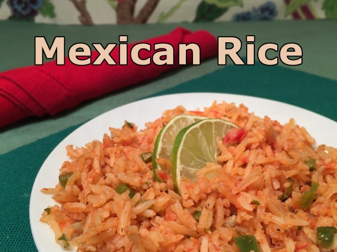 Mexican Rice text
