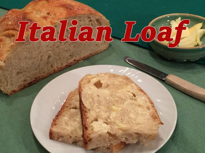 italian loaf text