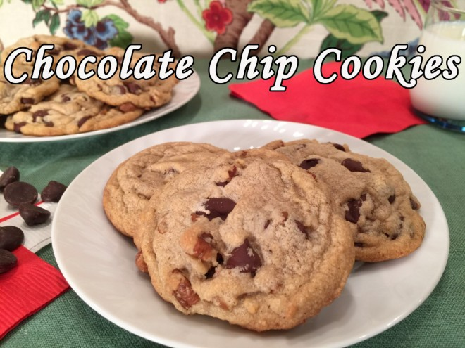 chocolate chip cookies text