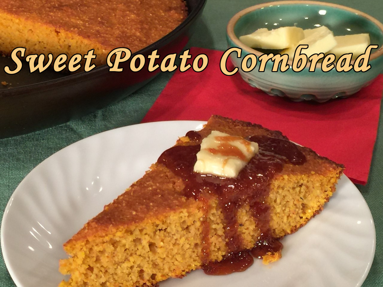sweet potato cornbread text