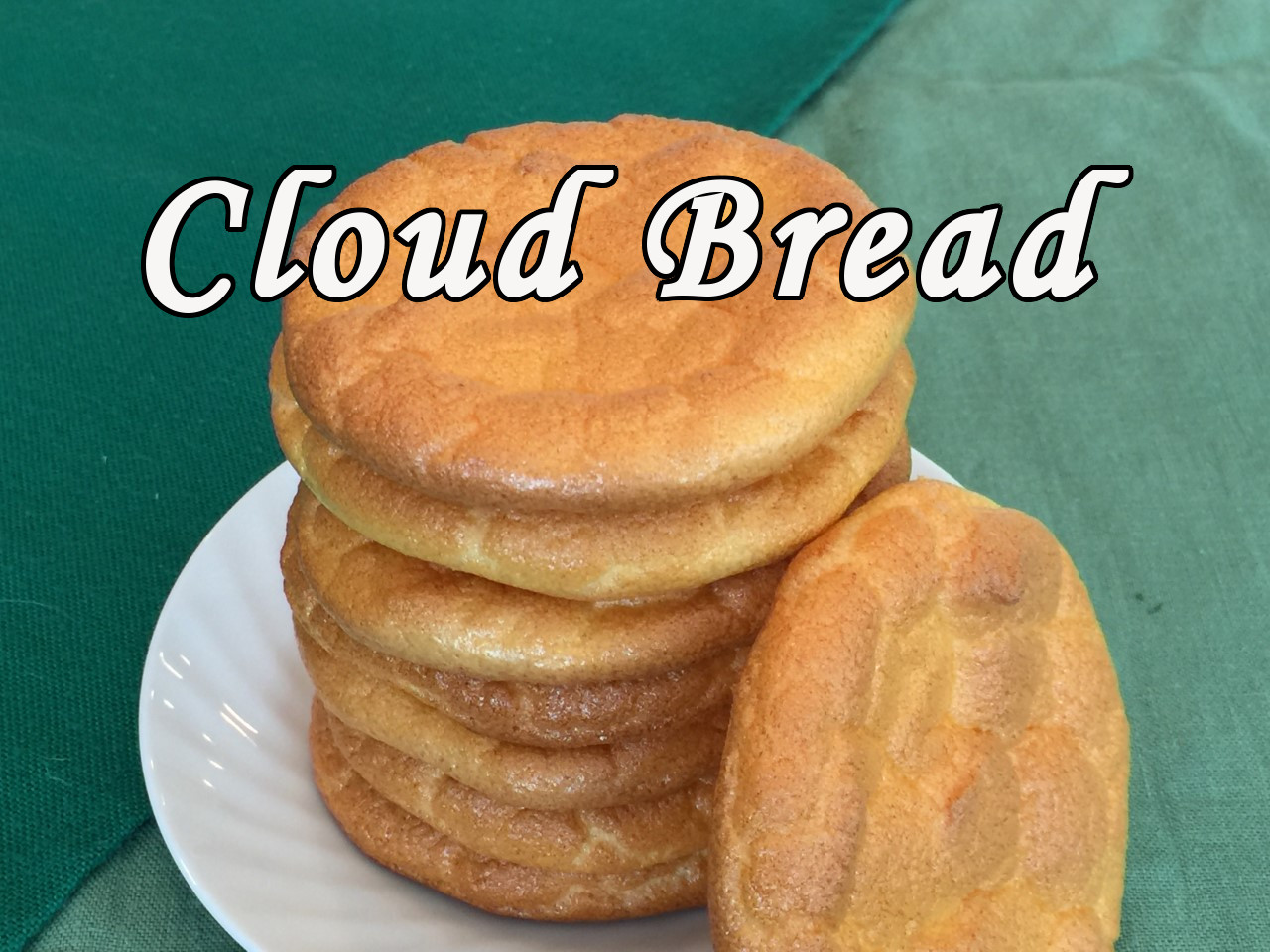 cloud bread text