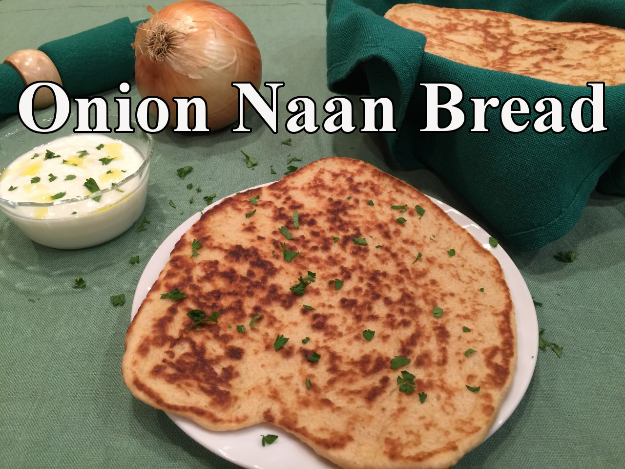 onion naan text