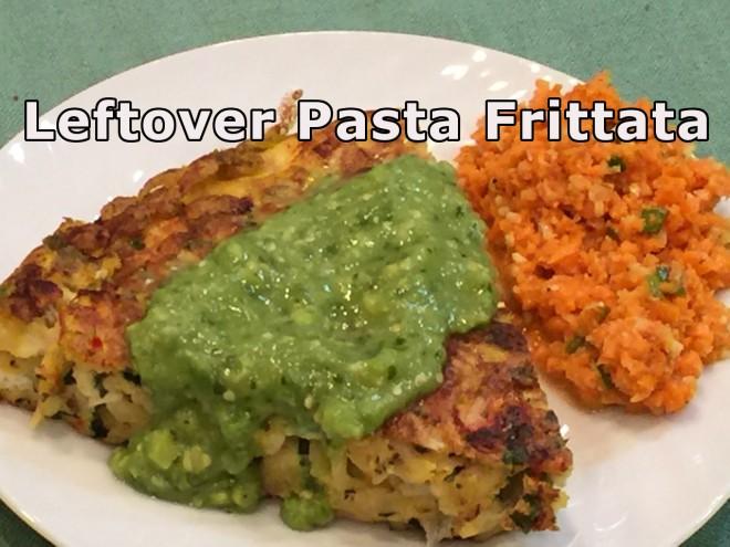 leftover pasta fritatta1 text